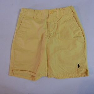 Polo by Ralph Lauren Boys' Size 5 Yellow Shorts